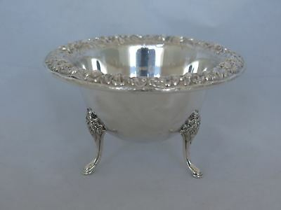 S. Kirk & Son Inc. Sterling #207 Repousse Footed Bowl
