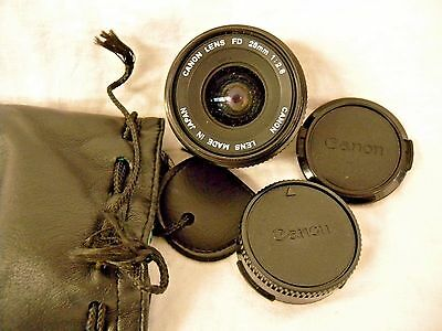 Canon FD 28mm f/2.8 Wide Angle Lens