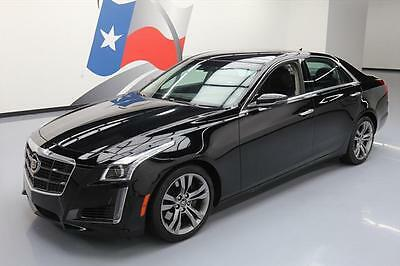 2014 Cadillac CTS Vsport Sedan 4-Door 2014 CADILLAC CTS TT VSPORT NAV REAR CAM VENT SEATS 10K #153666 Texas Direct