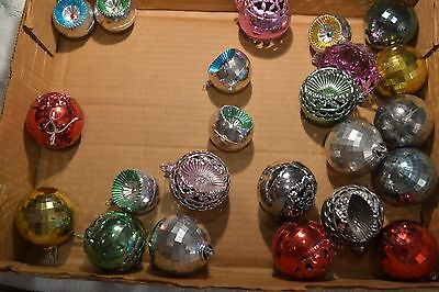 Small Lot Vintage Christmas Ornaments  Bradford?