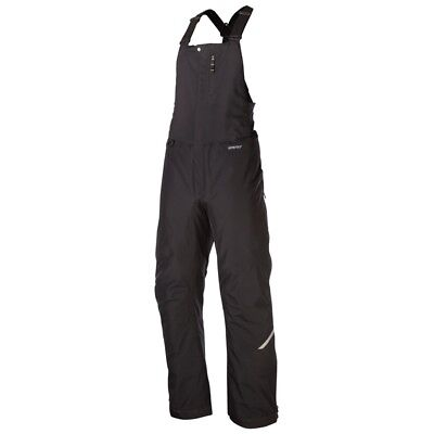 Klim Men's Klimate Bib Insulated Breathable Gore-Tex Snowmobile Pants - Black