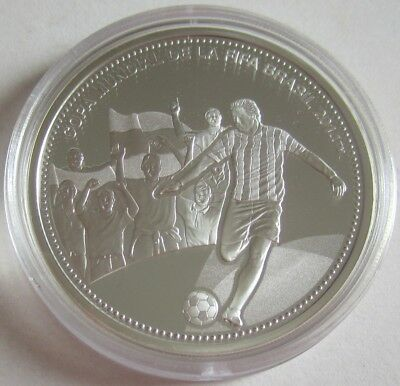 Paraguay 1 Guarani 2013 Football World Cup in Brazil Silver