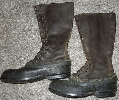 Early 1940's Hunting Fishing Boots US Pat. 2200333 Size 8
