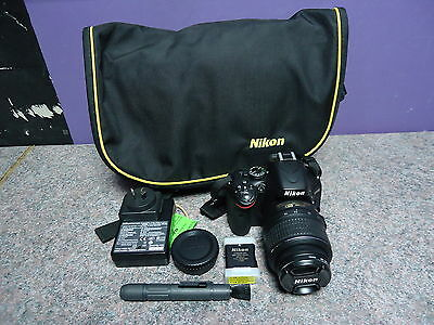 Nikon D5100 Camera With 18-55 Mm Lens Working *look*