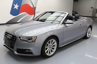 2016 Audi A5  2016 AUDI A5 2.0T PREM PLUS CONVERTIBLE AWD S LINE NAV #002513 Texas Direct Auto