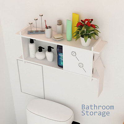 Wall Mounted Wooden Non-standard Rectangle Cabinet Cupboard Bathroom Storage UK