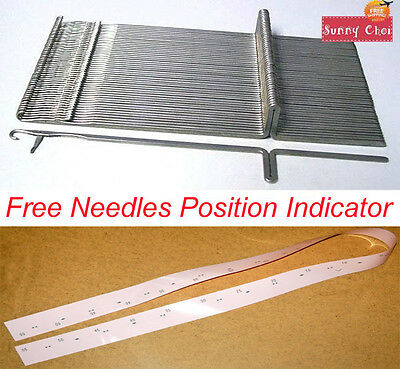 KR260 KR270 New Needles For Brother Ribbing Attachment Knitting Machine Needles