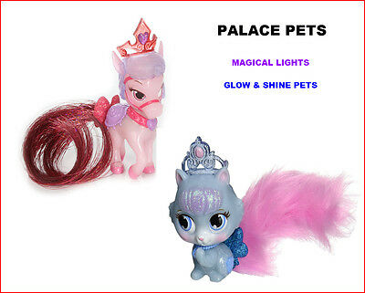 Princess Palace Pets MAGICAL LIGHTS Pets - GLOW & SHINE Kitty SLIPPER Pony BLOOM