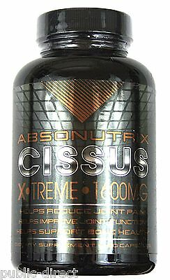 1600mg Cissus Joint Bone Support Health Pain Arthritis Super Relief Capsule Pill
