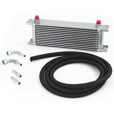 Universal Automatic Transmission/Gearbox Oil Cooler Kit - 235mm 13 Row 12mm Hose
