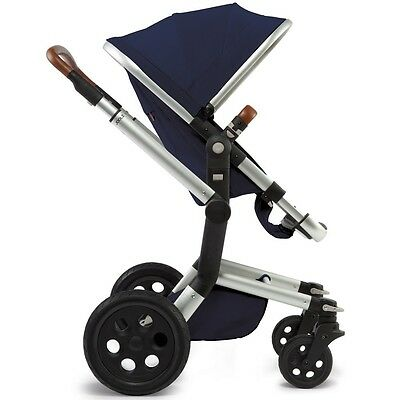 Joolz Day Kinderwagen Earth Edition - Gestell inkl. Sitzbezug - Parrot Blue