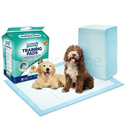100 Puppy Trainer Training Pads Toilet Pee Wee Mats Dog Cat Small/medium/large