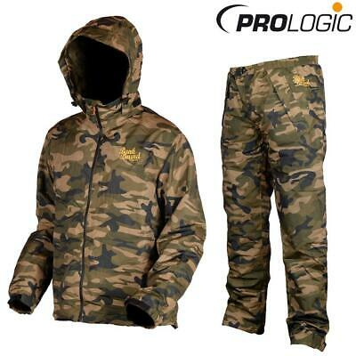 Prologic Bank Bound 3-Season Camo Fishing Trouser & Jacket Suit