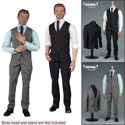"1/6 Scale Gentleman Suit 2.0 Fashion Men Clothes Set For 12"" Male Body Hot Toys"