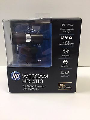 HP Webcam HD-4110 - Full 1080P Autofocus with TrueVision