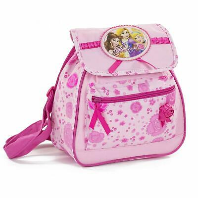 OFFICIAL Disney Princess Girls Kids Backpack Rucksack School Bag Cute Broken Zip