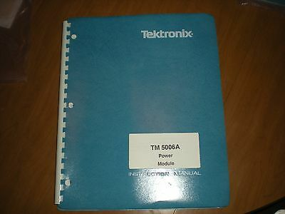 Tektronix original TM5006A power module instruction manual
