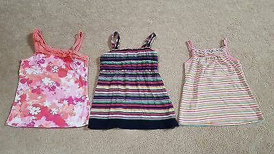 Lot of 3 - The Children's Place & GAP Kids Girls Tank Tops, Size 10