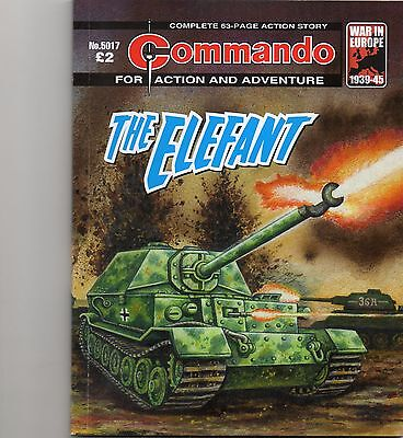 commando comic -  the elefant  no.5017