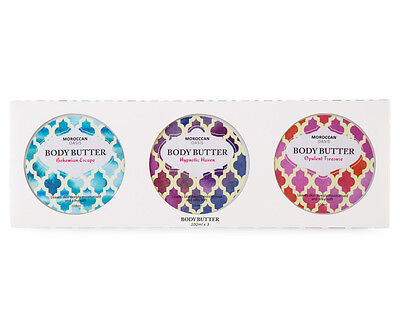 Moroccan Oasis Body Butter Trio Pack