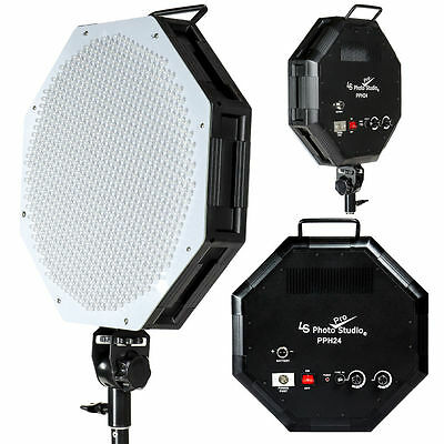 885 LED Dimmable Large LED Lighting Octagon Continuous Photography Video Light