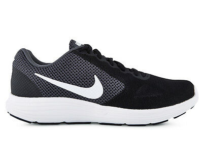 Nike Men's Revolution 3 Shoe - Dark Grey/White/Black