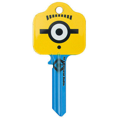 Despicable Me 3 Minion Goggle UL2 Universal Key Blank