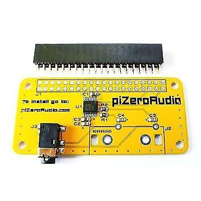 Audio DAC HAT Sound Card for Raspberry Pi Zero / A+ / B+ / Raspberry Pi 2 Model