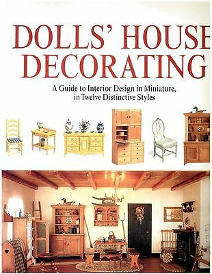 Doll´s House Decorating - Nick Forder - Puppenhaus-Buch - ISBN 071531415-7