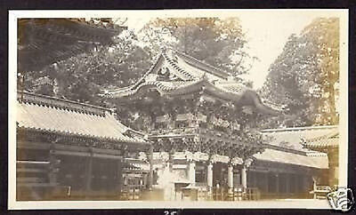 USA RED CROSS MISSION TO RUSSIA NIKKO JAPAN 1917 PHOTOc