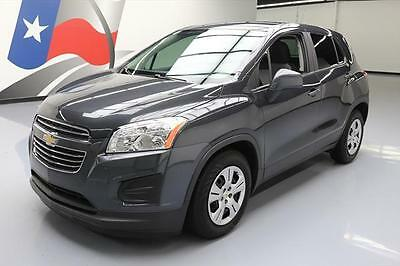 2016 Chevrolet Trax LS Sport Utility 4-Door 2016 CHEVY TRAX LS CD AUDIO BLUETOOTH REAR CAM 15K MI #151980 Texas Direct Auto