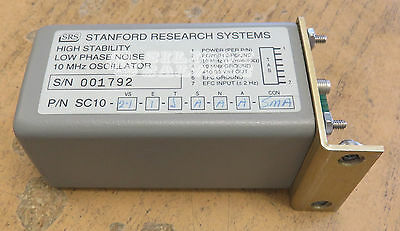 SRS Stanford Research 10MHz Systems High Stabilty Low Noise Oscillator