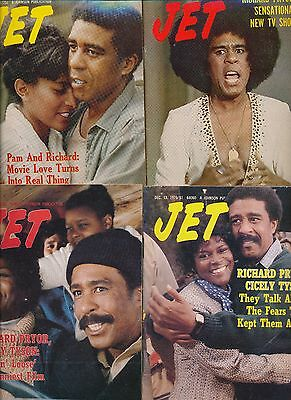 Lot Of (16) Richard Pryor Jet Magazines 1977-1993 Exc Cond Most No Labels