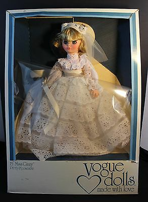 Vintage VOGUE 15 inch Miss Ginny - Pretty & Poseable Bride Doll - #303501