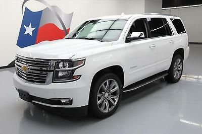 2016 Chevrolet Tahoe LTZ Sport Utility 4-Door 2016 CHEVY TAHOE LTZ  4X4 LEATHER SUNROOF NAV DVD 22'S #213950 Texas Direct Auto