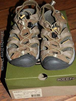7afc5e3f4f61 Women s KEEN Whisper Coffee Liqueur Yellow SANDALS Excellent Condition Size  8.5