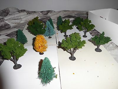 15 Trees For Village Or Train Set Up Some Plasticville