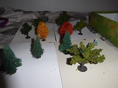 12  Trees For Village Or Train Set Up  Some Plasticville