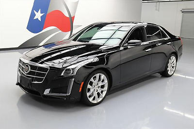 2014 Cadillac CTS Performance Sedan 4-Door 2014 CADILLAC CTS 3.6L PERFORMANCE PANO NAV HUD 26K MI #129673 Texas Direct Auto