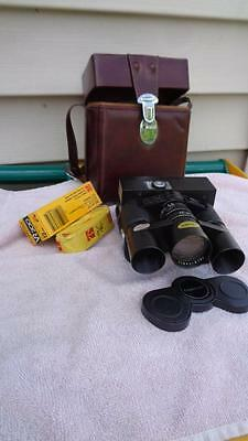 Tasco 7900 Binoculars 7x 20 With Built In 110 Camera & Film Very Clean Vintage