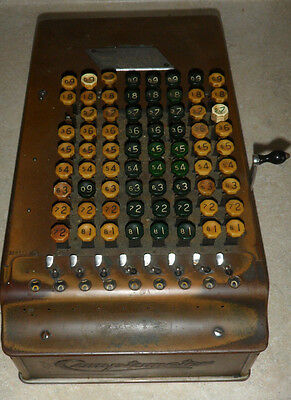 Vintage Felt & Tarrant Mfg Co. Comptometer Business Adding Machine