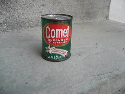 Vintage Comet Cleanser Tin Can...Unopened Sample Size