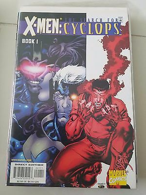 X-Men: The Search For Cyclops #1-4 (2001) Marvel Comics Full Complete Series! Nm