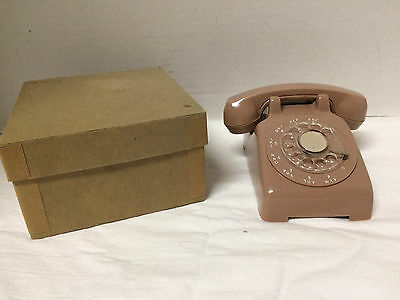 Vintage Miniature Salesman Sample Rotary Dial Phone - Bell Telephone System NOS