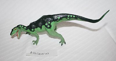 Allosaurus Museum Quality Replica 1:40 Model Dinosaur 1990s Carnegie Safari