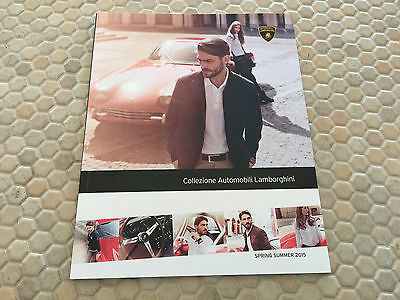 Lamborghini Official Collezione Automobili Personal Accessories Brochure Us 2015