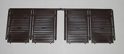 """Pacific Rail Shops ~ PRS S scale 4 x Youngstown Boxcar Doors ( 10'6"""" Height )"""