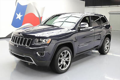 2014 Jeep Grand Cherokee Limited Sport Utility 4-Door 2014 JEEP GRAND CHEROKEE LTD ECODIESEL NAV REAR CAM 31K #360025 Texas Direct