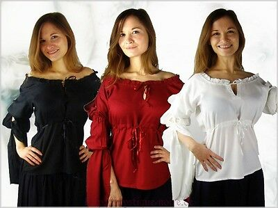 Romantic Vintage Blouse Gothic Mystic Wicca Medieval Baroque Victorian
