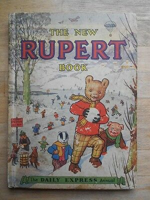 Rupert The Bear annual 1951 politically incorrect - unclipped, full spine